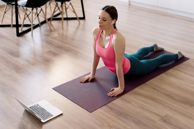 cours de yoga en ligne à lyon